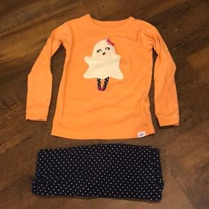 Halloween Ghost Toddler Pajamas